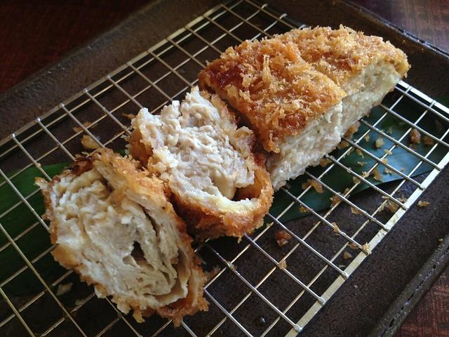 Garlic kimukatsu set - Kimukatsu