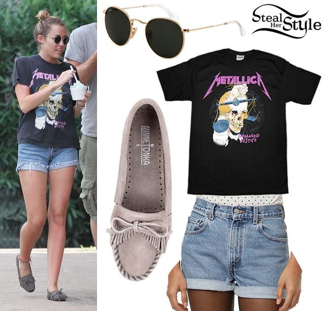 麥莉希拉(Miley Cyrus)穿的就是一直都很熱賣的Kilty!