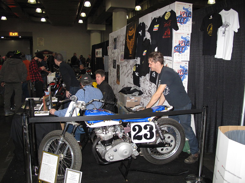 Rosko and Hugh's 750 Champion Frame Triumph