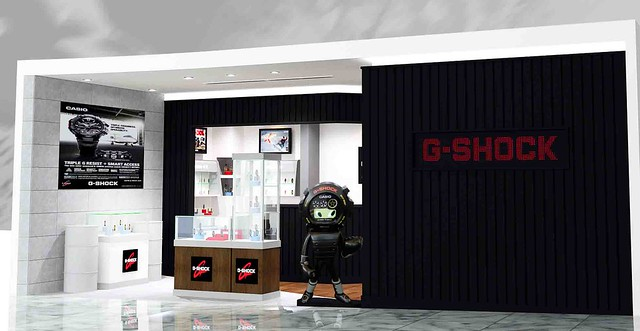 First G-Shock concept store in Asia