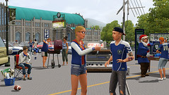First Screenshots & Box Art of Sims 3 University Life (2/6)
