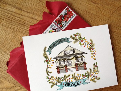 Grace-Family-Holiday-Card-Home-Portrait-Watercolor