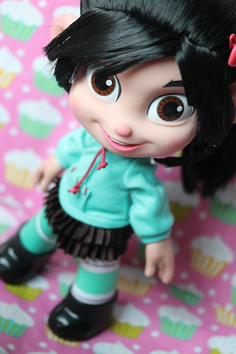 Wreck It Ralph Vanellope Von Schweetz Toy Edition