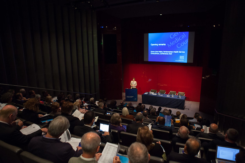 Image of attendees at the GMC's Being Fair conference.