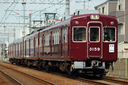 3159F @阪急塚口〜稲野