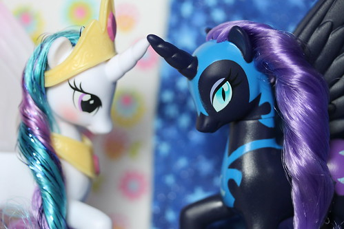 Princess Celestia & Nightmare Moon