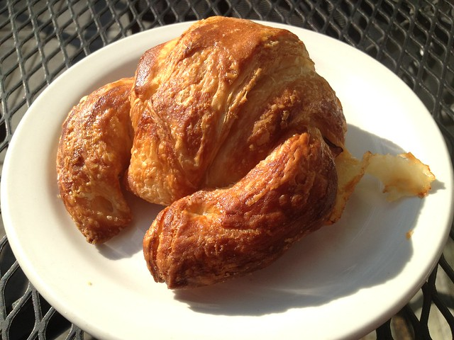 Ham and cheese croissant - Aster Coffee Lounge