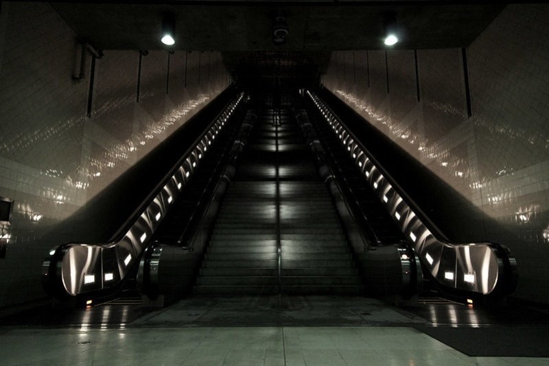 Subterranian Stairwell