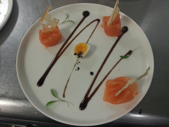 SMOKED SALMON AMUSE BOUCHE