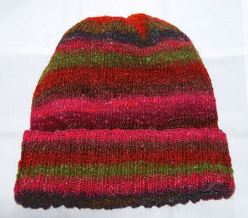Noro slouchy hat