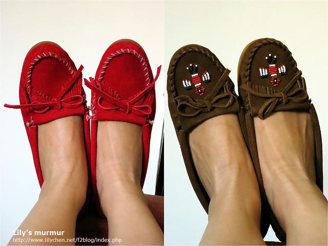 看得出來左邊的Kilty款比較包腳。不過如果你是瘦長腳板的話,我覺得買雷鳥版的也不錯。建議這款鞋大小一定要買剛好,因為會越穿越鬆。
