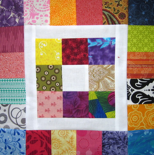 Patchwork Square in a Square 1