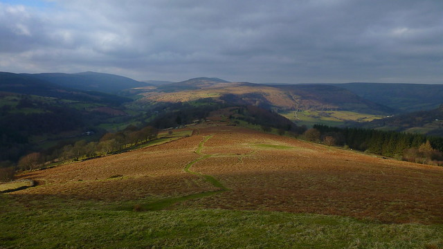 Twyn y Gaer Hill Fort, Black Mountains
