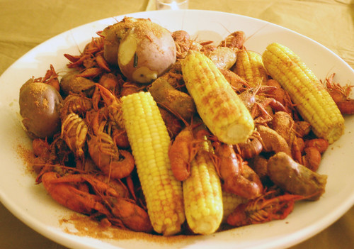 Crawfish feast