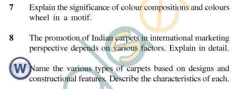 UPTU B.Tech Question Papers - CT-604(O) - Carpet & Textile Designing-II