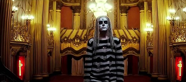 Moon zombie takes time off from showing her ass to dressing like Freddie.