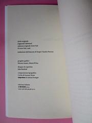 Denis Lachaud, Imparo il tedesco. 66THAND2ND 2013. Progetto grafico: Silvana Amatao, Marta B Dau. Alla cop.: disegno di Julia Binfield. Colophon (part.), 1
