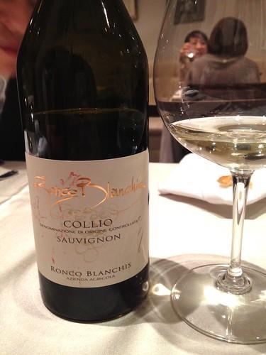 白ワイン@ラ・ブリアンツァ