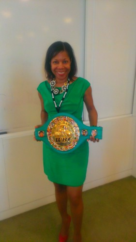 Donna and THE  belt
