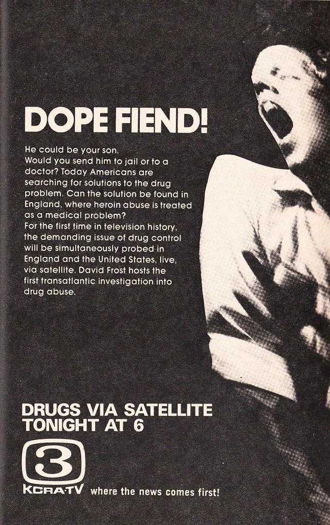 Drugs via Satellite
