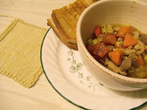 chicken noodle soup again