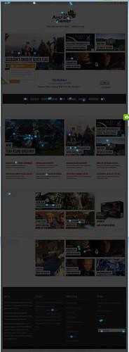 The Average Gamer Homepage Heatmap