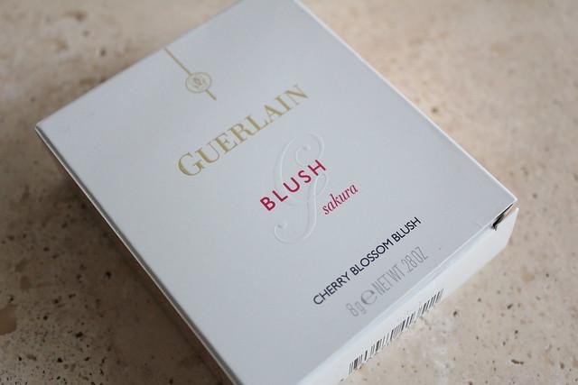 Guerlain Blush G Sakura Cherry Blossom Blush swatch and review