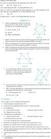 NCERT Class IX Maths Chapter 8 Quadrilaterals