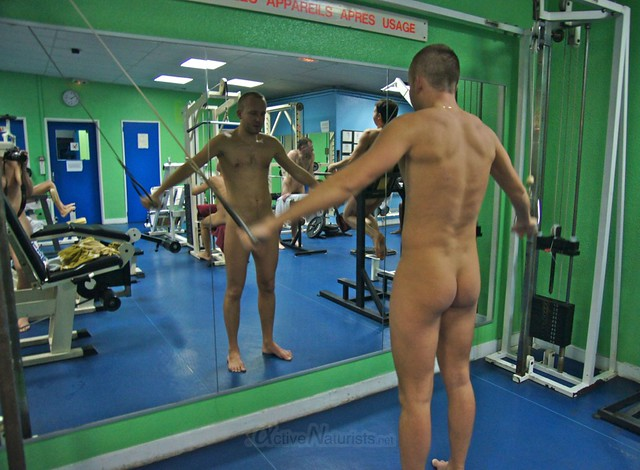naturist 0001 Gym of Association Naturiste de Paris, Paris, France