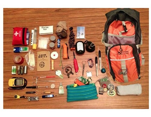What's in my Geocaching Kit?
