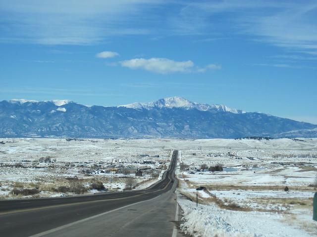 Highway 94 and Pikes Peak
