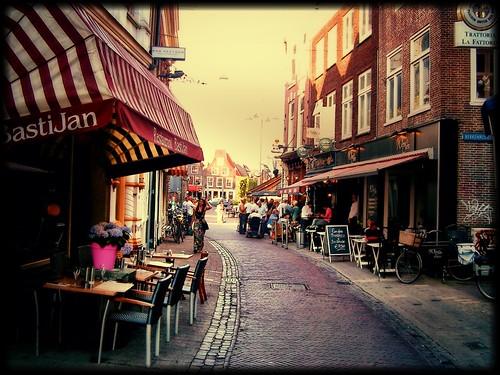 Backstreets of Haarlem by SpatzMe