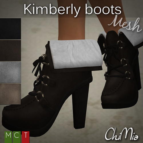 ChiMia - Kimberly boots @ The Deck