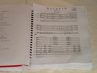 Partitura Macbeth, Trieste 8 marzo 2013