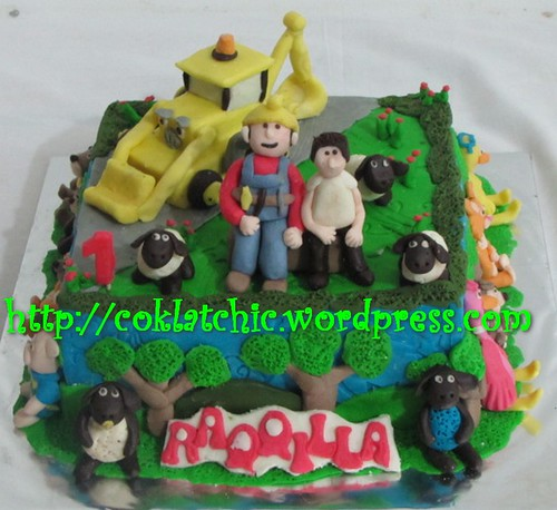 Cake Bob the Builder dan Timmy Time