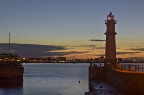 Newhaven Sunset 15 March 2013