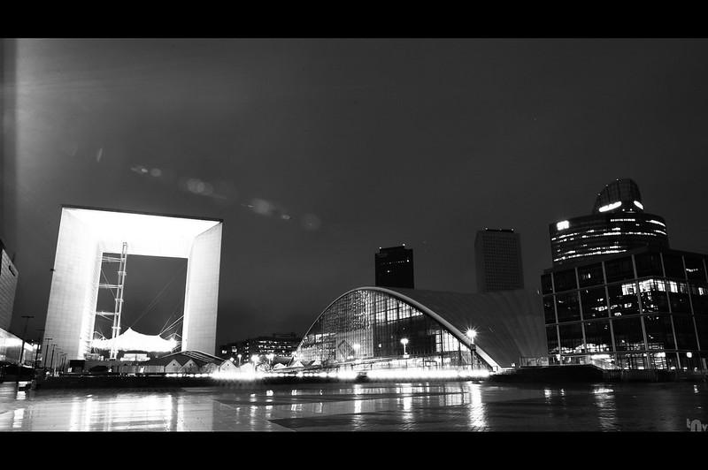 Paris by night - La Défense