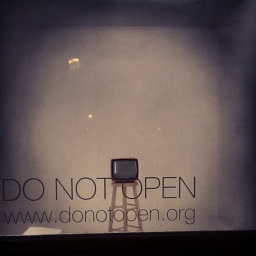 do not open