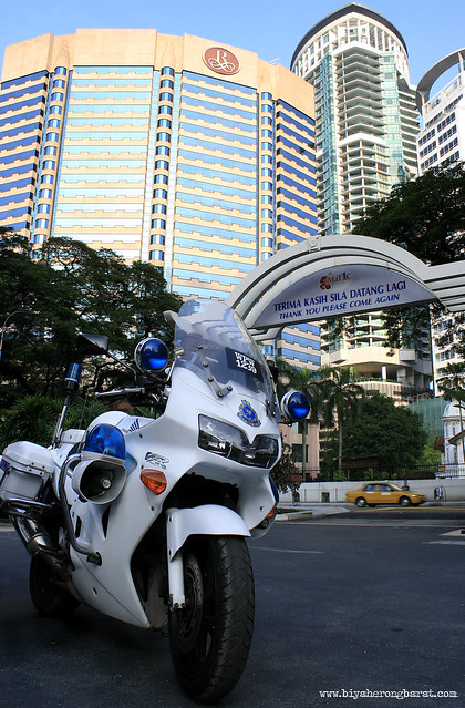 Tourism Police Motorcycle at Malaysia Tourism Centre Kuala Lumpur