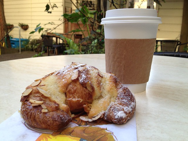 Almond croissant - Thorough Bread and Pastry