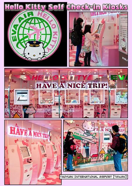 Hello Kitty Self Check-In Kiosks