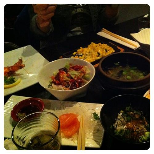 Drinking Korean style #soju#소주#anju#instacollage