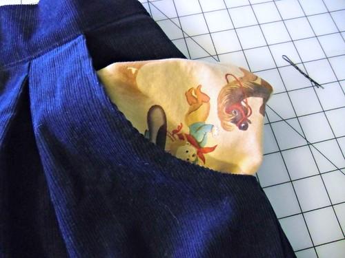 Kelly Skirt - pocket!