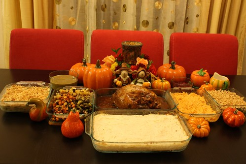 2012 11 Thanksgiving Dinner