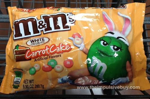 M&M White Chocolate Carrot Cake