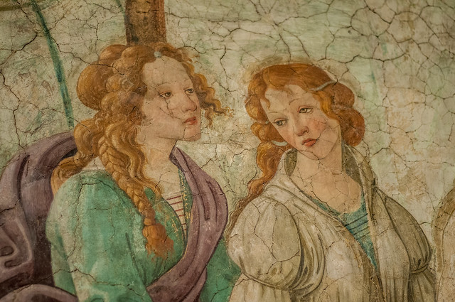 Fresco - BOTTICELLI
