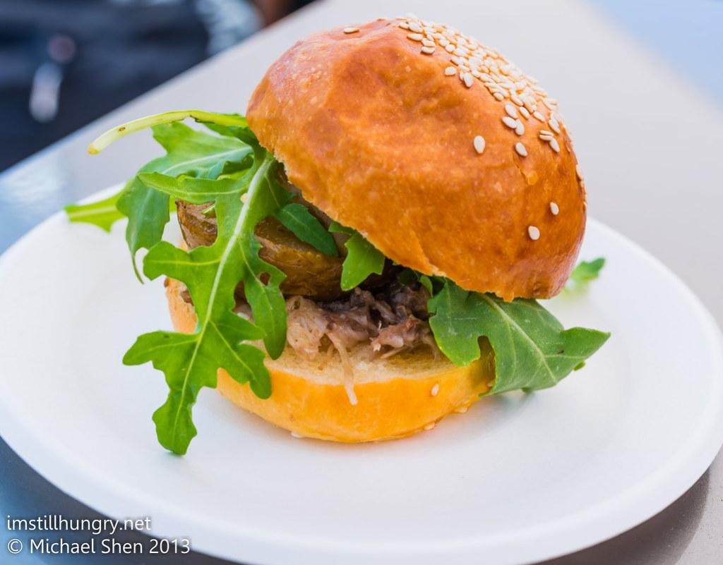 Taste of Sydney - Roast Pear and Duck Slider