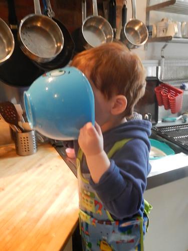 Cooking Day - washing up