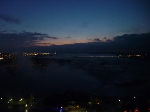 Horseshoe falls - early dawn