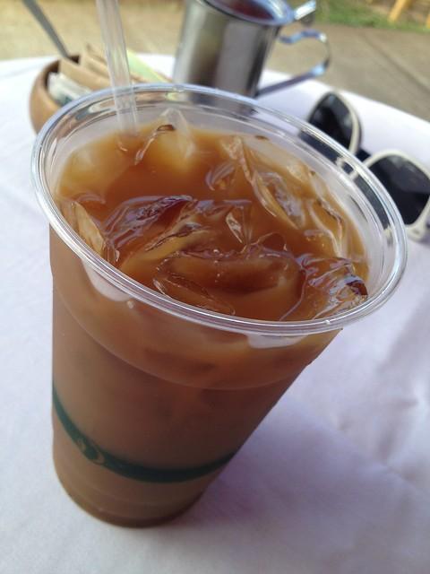 Iced Kona coffee - Island Lava Java